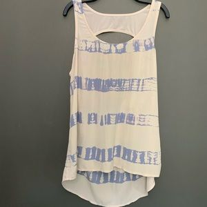 NWT Gypsy 05 High Low Open Back Tank